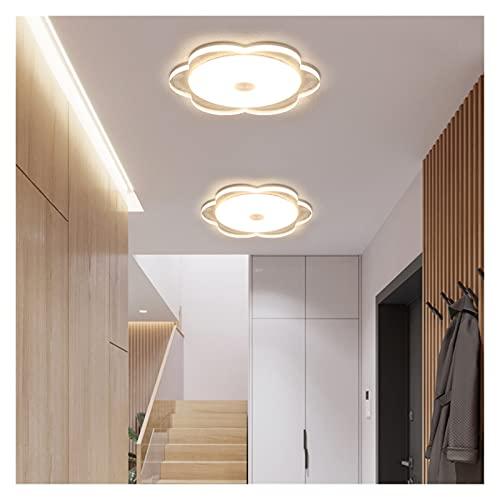 JUNQIAOMY Downlight LED Redondo Downlight 5W Instalación Panel LED Luz Luz de luz del Techo Abajo AC110V 220V Cálido/frío Blanco/Blanco Conductor LED