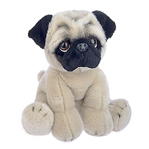 Ganz 12' Heritage Pug Stuffed Animal,Tan,12 inches
