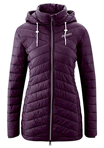 Maier Sports Damen Notos Coat W Jacke, Italian Plum, 42