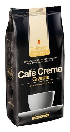 Dallmayr Kaffee Crema Grande 1000 g Kaffeebohnen, 1er Pack (1 x 1 kg)