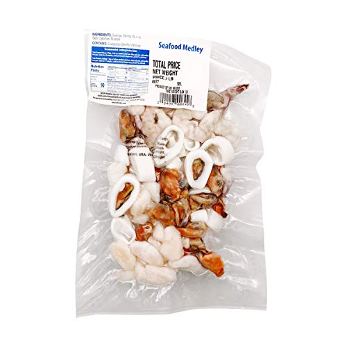 Vacuum Pack Seafood Medley Frozen