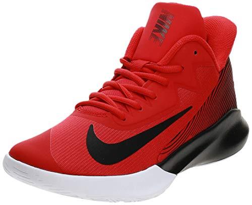 Nike Precision Iv Baloncesto Zapato Hombres Ck1069-600, Rojo (Rojo universidad, negro-blanco), 43 EU