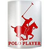 POLO PLAYER - PICK COLOR & SIZE - Horse Rider Pony Vinyl Decal Sticker D