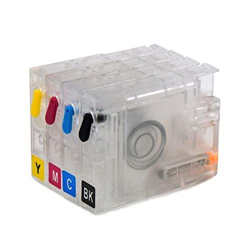 DINGMINGMING Cartuchos de Impresora Ajuste para HP711 HP711XL Cartucho de Tinta Recargable para HP...