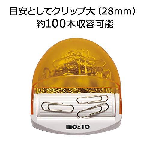 INOZTOクリップケースマグネットローラー付オレンジCD-01-OR