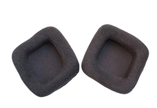 Replacement Ear Pad Earpads Leather Cushion Repair Parts for Razer Banshee StarCraft II Gaming Headset earmuffs Cushion(1 Pair )