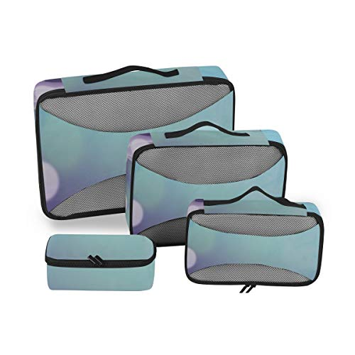 Packing Cubes Travel Organizer Bubble The The Bubbles Organizer Travel Luggage Packing Cubes Set 4 Piece Suitcase Organizer Lightweight Luggage Storage Bag
