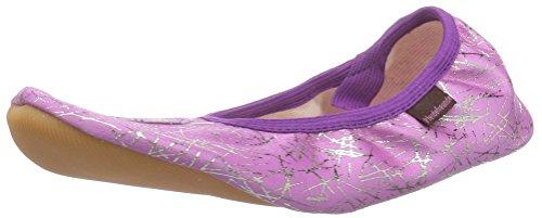 Pferdefreunde 140033, Zapatillas de Gimnasia niña, Violeta-
