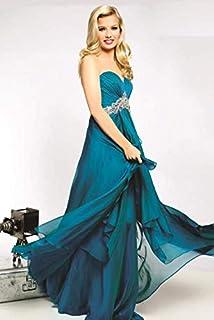 جوفاني فستان ، للنساء ، كسرات ، ستان ، ، مقاس 8 US ، تيل