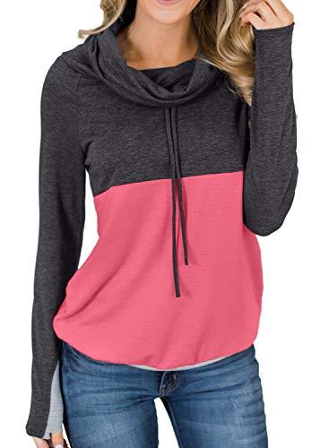 Casual Tunic Longsleeve Sweatshirt