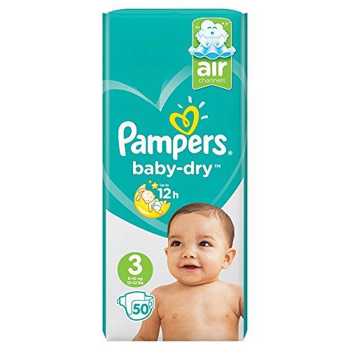 Pampers Baby Dry Windeln Tragetasche, Größe 3 (Midi) – 30 Windeln