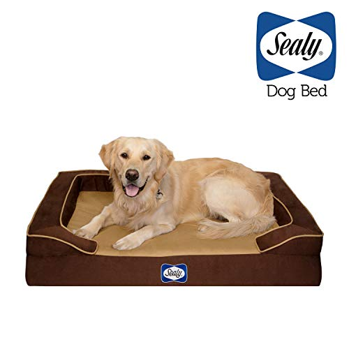 Sealy Lux Pet Dog Bed | Quad Layer Technology with...