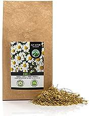 Kamille thee, kamille bloemen, kamille bloementhee, hele bloemen, zacht gedroogd, 100% puur en natuurlijk voor de bereiding van thee, kruidenthee, kamille thee