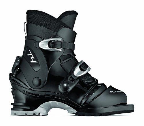 SCARPA T4 Ski Boots (Black, 24)