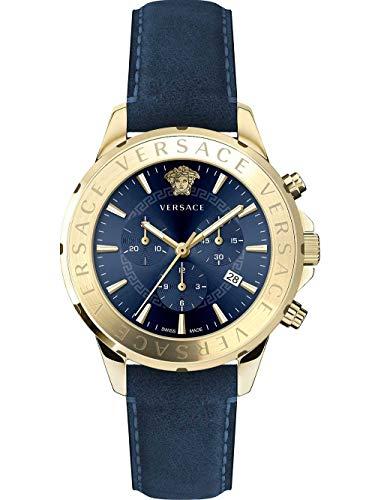 Versace Armbanduhr Herrenuhr Chronograph Chrono Signat Armbanduhr VEV6003 19