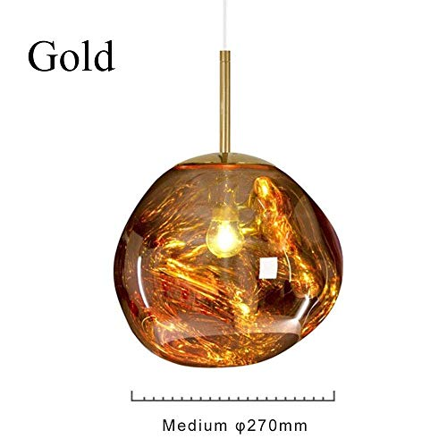 CCVV Moderne Lava hanglampen, onregelmatige vorm glazen hanglamp kroonluchter voor woonkamerlamp keuken