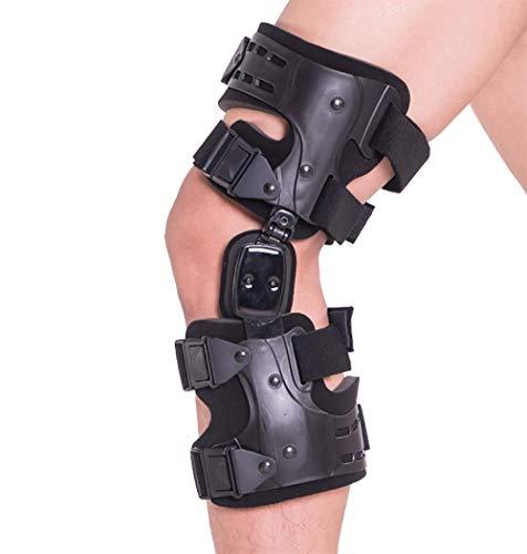 MB Medical Braces OA Unloader Knee Brace for Osteoarthritis of the Knee, Rheumatoid Arthritis, Knee Joint Pain and Degeneration, Universal Size, Black, Right Lateral, Left Medial