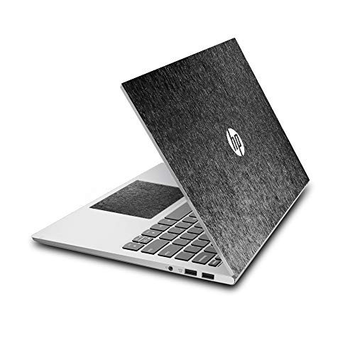 """Arjun Designs Customizable Vinyl B & W Abstract Laptop Skin Compatible for HP 15.6"""" Laptops (Black and White)"""