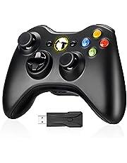 Xbox 360 コントローラー 無線 ワイヤレス ゲームパッド PC コントローラー xbox 360 wireless controller ジョイスティック イヤホンジャック Windows PC Win7/10 対応 xbox 360 ゲームコントローラー