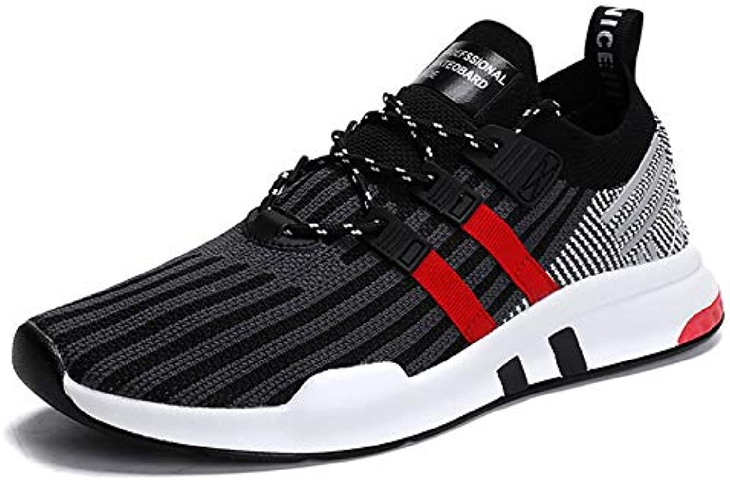 WDDGPZYDX Men Comfortable shoes Spring Autumn style sneaker Breathable Fashion Male Casual shoes3 color large size 39-46