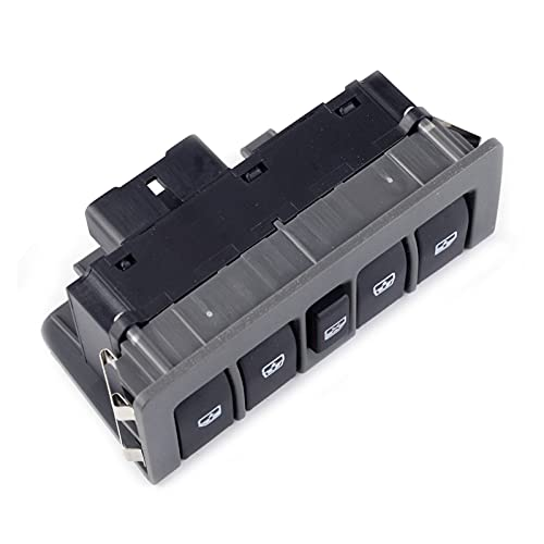 XINLIN Ruderude 1pc Master Window Lifter Electric Master Switch Fit para Chevrolet Sail 2010 2011 2012 2013 2014 2014