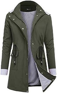 RAGEMALL Women's Raincoats Windbreaker Rain Jacket...