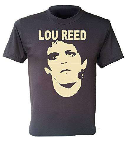 Lou Reed T-Shirt Rock N Roll Animal Band Retro Men Shirt