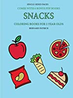 Coloring Books for 2 Year Olds (Snacks)