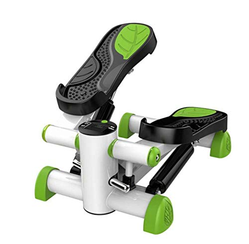 Laufband Gewichtsverlust Maschine Treppe Stepper Stand Up Heimtrainer Mini Ellipsentrainer Schrittpedal mit einstellbarem Widerstand und LCD-Display Fitness-Übungspedal