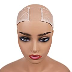 UNIQUE DESIGN: talever new design lace wig grip is made up of the more durable, unmonitored/not monitored Swiss lace material, and secure your wigs in place without using glues, tapes, clips or combs. COMFORTABLE: Our lace wig grip band is made of du...