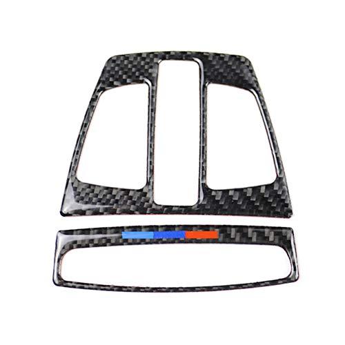 Demarkt Carbon Fibre Interior Innen Leselicht Verkleidung Abdeckung Trim für F20 F30 F34 F32 X1 X5 F15 X6 F16,1 Set