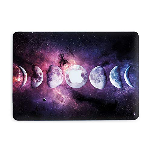 Moon Phases Space Art Laptop Case Pro 16 2019 A2141 Cool Cover Plastic Cases with Print