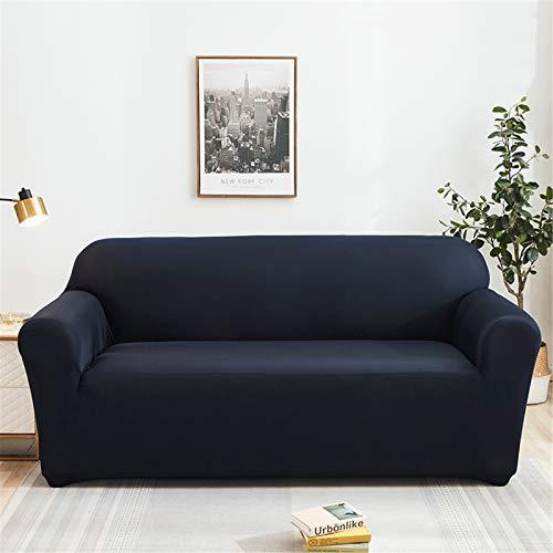 Funda De Sofá Antideslizante De Color Sólido Funda Protectora De Decoración De Sofá para El Hogar Funda De Sofá Elástica Extraíble Y Lavable 2 Seater (145-185 cm)