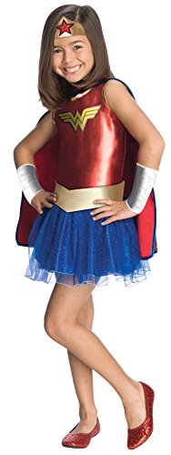Rubies Wonder Woman - Childrens Disfraz - Medium - 132cm