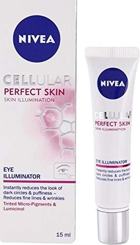 Nivea Cellular Perfect Skin Augencreme Eye Illuminator, 2er Pack (2 x 15ml)