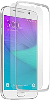 BodyGuardz - Pure Glass Screen Protector, Ultra-Thin Tempered Glass Screen Protection for Samsung Galaxy S6 (Silver)