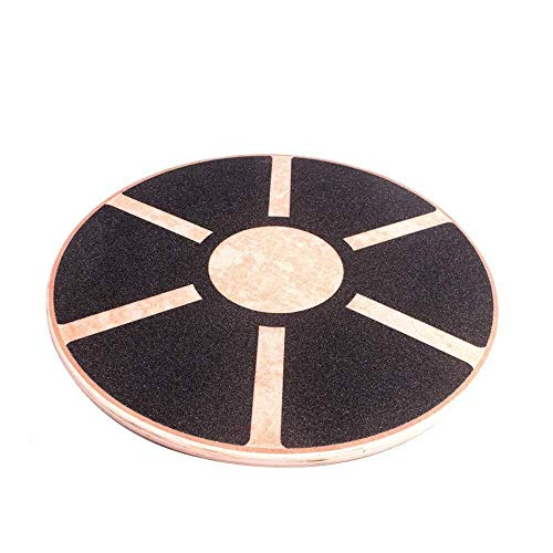 Best Review Of Balance Board CS-PHB Gradient Fitness Balance Board, Wooden Wobble Board, Circular No...