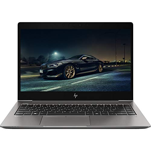 HP ZBook 14u G6 14' IPS FHD Full HD 1080p Mobile Workstation Business Laptop (Intel Quad-Core i7-8565U, 32GB DDR4 RAM, 2TB SSD, AMD Radeon Pro WX 3200) Thunderbolt, Backlit, Wi-Fi 6, Windows 10 Pro