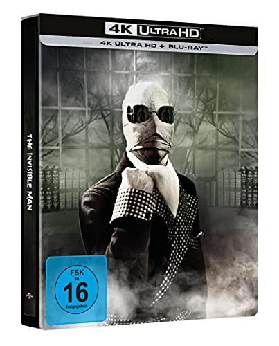 Der Unsichtbare - Limited Steelbook (4k UHD Exklusiv bei Amazon) [Blu-ray]
