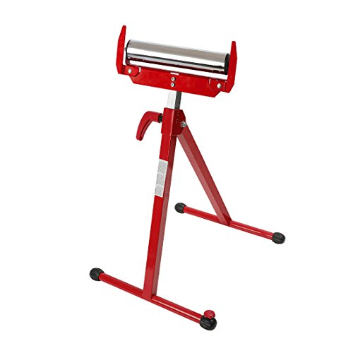 WORKPRO Folding Roller Stand Height Adjustable, W137006A