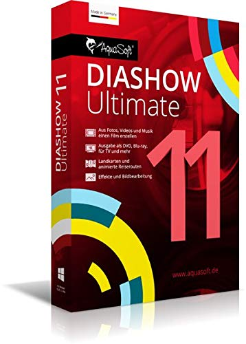 AquaSoft DiaShow 11 Ultimate|DVD|2|-|PC|Disc|Disc