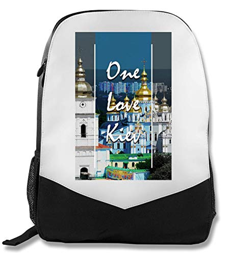 One Kiev | Series | Popular Words | Osom Quotes | Cool T Shirt | Nice to | Super | Beautiful Landscape | Yolo Swag Rucksack