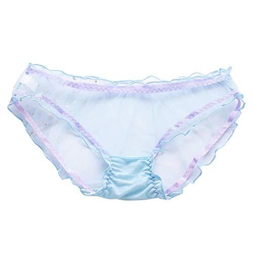 AMUSTER Damen Höschen Sexy Transparente Mesh Dessous Frauen Unterwäsche Sexy Transparente Spitze Unterhose