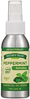Nature's Truth Peppermint Refreshing On the Go Hydrating Mist - 2.4 oz, Pack of 2
