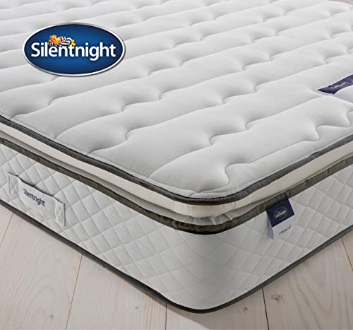 Silentnight Miracoil Luxury Pillowtop Mattress | Medium | Super King