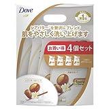 Dove(ダヴ) ボディウォッシュ リッチケア シアバター&バニラ 詰替え用 340g×4個