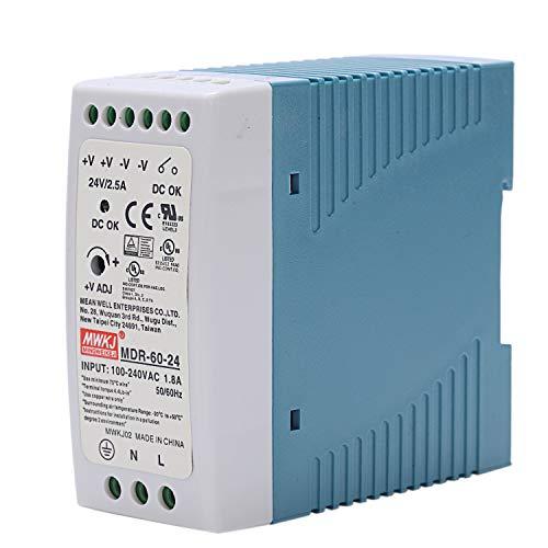 RETYLY MDR-60 24V 60W Din Fuente de Alimentación de Carril Ac/Dc Fuente de Alimentación Del Regulador de Voltaje Del Conductor 110V 220V