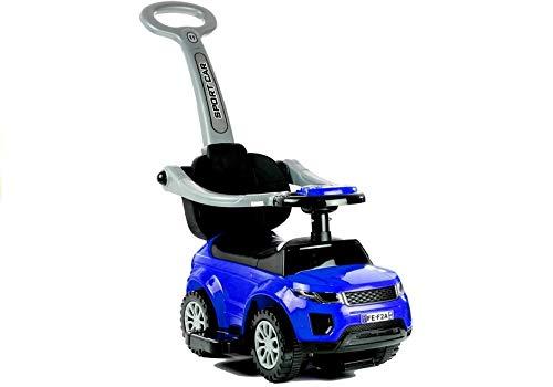 Lean Toys Rutschauto mit der Schiebestange 614W Blau