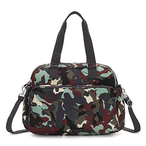 Kipling July Bag Reisetasche, 45 cm, 21 Liter, Camo L