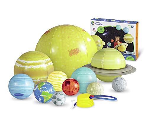 Learning Resources- Set con Sistema Solare Gonfiabile, Colore, LER2434